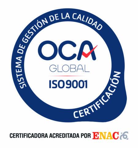 Travelface, empresa certificada en calidad