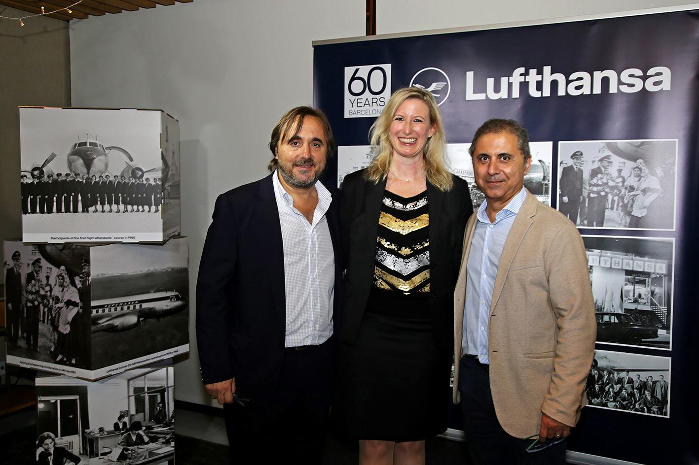 Travelface presente en el 60 aniversario de LUFTHANSA