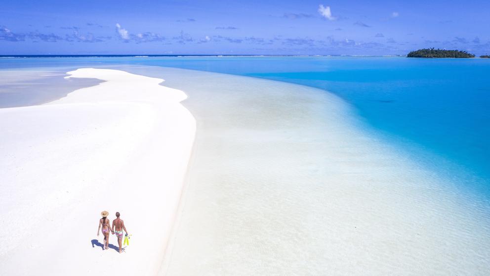 La laguna Aitutaki, la más bonita del mundo