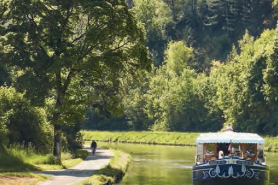 Navegar los canales de Francia al estilo Belmond